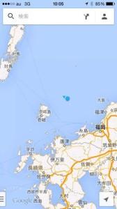 小呂島周辺